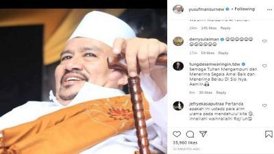 Habib Ali Assegaf Tebet Meninggal, Netizen: Ya Allah, Dunia Mu Ditinggalkan Orang-Orang Sholeh