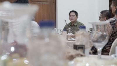 Minta Dikritik, Erick Thohir Sindir Pimpinan Bos BUMN Duduk di Belakang Meja