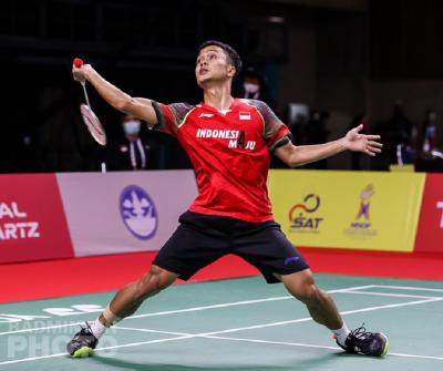 Anthony Sinisuka Ginting Takluk dari Viktor Axelsen di Semifinal Thailand Open 2021