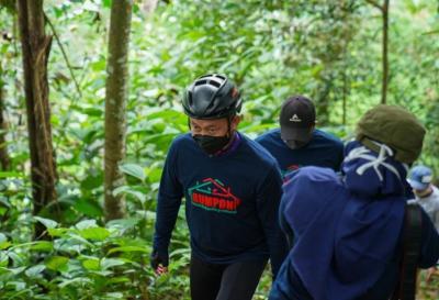 Bukit Rel 'Disulap' Jadi Destinasi Wisata Baru di Pontianak