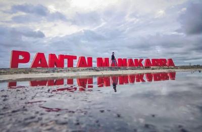 6 Fakta Unik Pantai Manakarra di Mamuju, Pernah Viral karena Simbol Mata 'Dajjal'