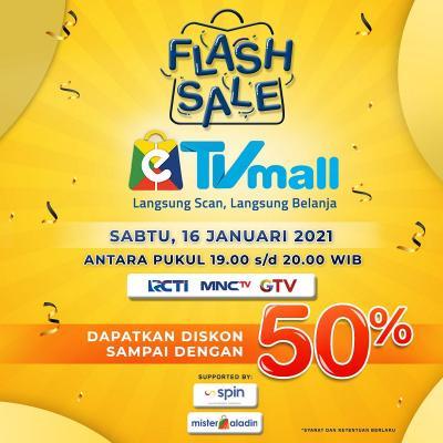 Hari Ini Flash Sale e-TV Mall !!! Belanja Gak Ribet dan Diskon Sampai 50%