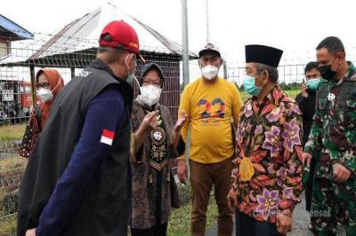 DPR Minta Mensos Risma Penuhi Kebutuhan Dasar Korban Banjir dan Gempa
