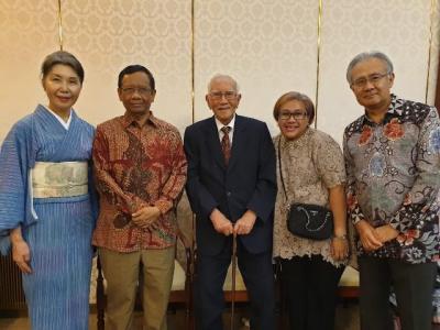 Mahfud MD Kenang Pertemuan Terakhir dengan Letjen TNI  Purn  Sayidiman