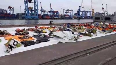 KRI Kurau Temukan 3 Serpihan Pesawat Sriwijaya Air SJ 182