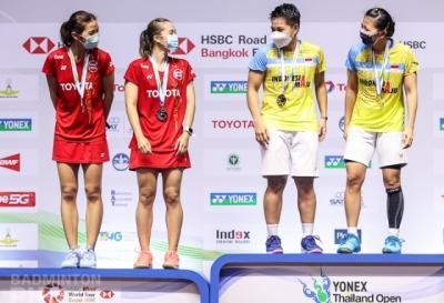 Hasil Lengkap Final Thailand Open 2021: Indonesia Bawa Pulang Satu Gelar