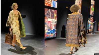 Bangga! Kain Endek Bali Masuk Koleksi Fashion Christian Dior 2021