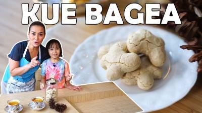 Serunya Mami Vanty MasterChef Bikin Kue Bagea Bareng Sang Anak