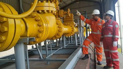 120 Ribu Rumah Tangga Ditarget Tersambung Jaringan Gas
