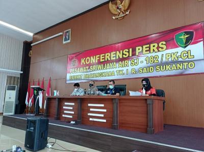 Indentifikasi Penumpang Sriwijaya, Tim DVI Polri Periksa Rekaman CCTV Bandara