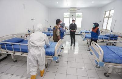 Resmikan RS Lapangan Bogor, Bima Arya: Covid-19 Sudah Sangat Darurat