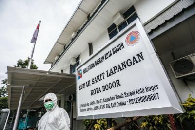 Dibangun dalam 2 Minggu, Ini Sederet Fasilitas Lengkap RS Lapangan Kota Bogor