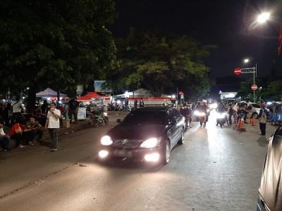 Tawuran Kembali Pecah di Manggarai, Polisi Lepaskan Gas Air Mata