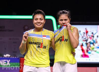 Usai Juarai Yonex Thailand Open 2021, Ini Target Greysia di Dua Turnamen Selanjutnya