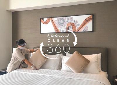 Oakwood Clean360! Staycation Aman, Nyaman & Menyeluruh di Oakwood Hotel & Residence Surabaya