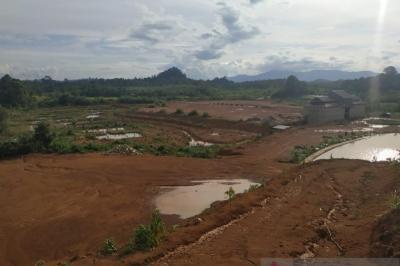Melihat Pembangunan Wisata Alam Lembah Bukit Semugang di Perbatasan RI-Malaysia