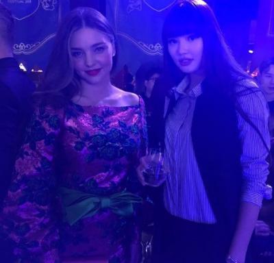 Intip Pesona Sabina Altybenkova saat Jumpa Tokoh Terkenal, Ada Model Victoria Secret