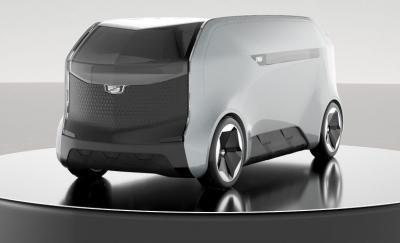 Unik, Mobil Masa Depan Cadillac Mirip Pemanggang Roti