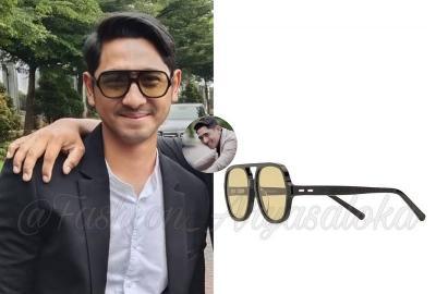 Gaya Arya Saloka Pakai Kacamata Monokrom Rp4 Juta, Netizen: Mas Al Caem Amat!