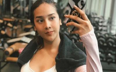 Intip Serunya Anya Geraldine Ngegym, Netizen: Boroknya Gak Ngaruh, Tetep Sayang