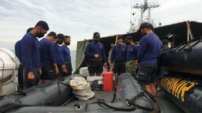 Denjaka Rekam Serpihan Sriwijaya Air yang Hancur di Dasar Laut, Ini Videonya