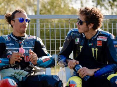 Franco Morbidelli Sudah Gatal Ingin Kalahkan Valentino Rossi