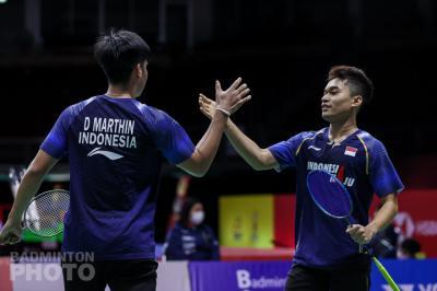 Ganda Putra Denmark Akui Kemenangan Leo Daniel di Thailand Open 2021