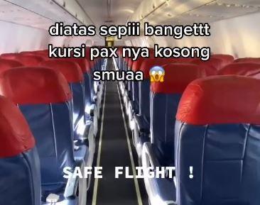 Viral Pramugara Terbang dengan Pesawat Kosong, Reaksi Netizen Tak Terduga!