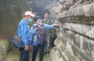 5 Arca Diduga Peninggalan Majapahit Ditemukan di Kediri