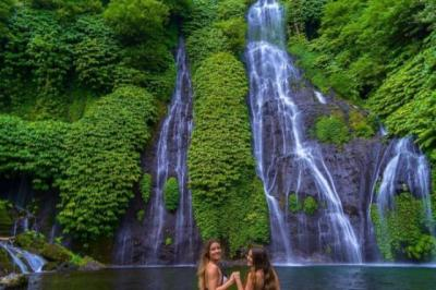 5 Air Terjun Indah bak Negeri Kayangan di Bali