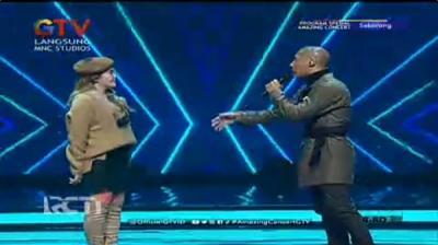 Duet Manis Marcell dan Via Vallen Buka Amazing Concert GTV