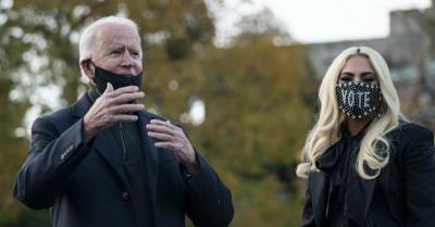 Jelang Pelantikan Joe Biden, Lady Gaga Ungkap Harapan untuk Amerika Serikat