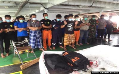 Kisah Penyelam Sriwijaya Air, Untaian Doa dan Sholat Jenazah di Atas Kapal