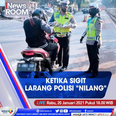 "iNews Room"" Live di iNews dan RCTI+ Rabu Pukul 18.00: Ketika Sigit Larang Polisi Menilang"