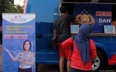 5 Lokasi SIM Keliling di Jakarta Hari Ini, Pukul 08.00 WIB hingga 14.00 WIB