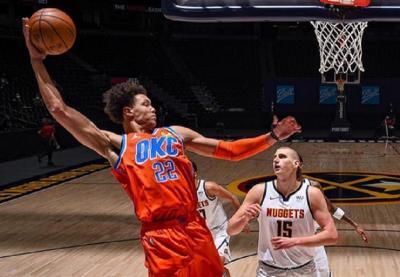 Hasil Pertandingan NBA 2020-2021 Hari Ini: Denver Nuggets Taklukkan Thunder