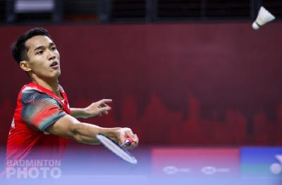 Jonatan Christie Tersingkir di Babak Pertama Thailand Open 2021