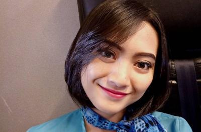 Penampakan Makam Pramugari NAM Air Oke Dhurrotul Jannah, Cantik Penuh Mawar Merah