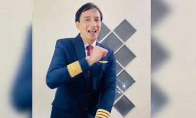Serunya Pilot Kapten Rafi Noor Goyang TikTok Bareng Pramugari