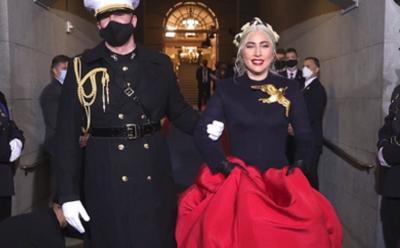 Pesan Indah di Balik Bros Merpati Lady Gaga saat Pelantikan Presiden AS