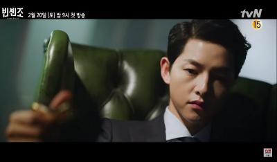 Todongkan Pistol, Song Joong Ki Gagah di Trailer Perdana Vincenzo