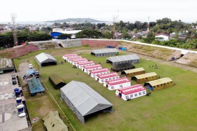 Ini Langkah Kemensos Dukung Pemulihan Psikososial Para Pengungsi Gempa Sulbar