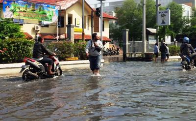 Hujan Deras, 5 Kecamatan di Bekasi Tergenang