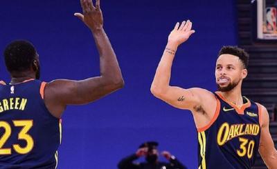 Hasil Pertandingan NBA 2020-2021 Hari Ini: Golden State Warriors Petik Kemenangan