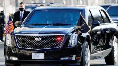 The Beast, Mobil Canggih dengan Keamanan Tinggi yang Dipakai Joe Biden