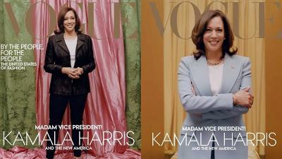 Usai Dikritik, Vogue Akhirnya Rilis Foto Cover Terbaru Kamala Harris