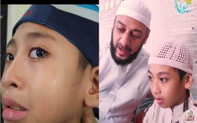 Syekh Ali Jaber Wafat, Reaksi Naja Huda Bocah Hafidz 30 Juz Menyayat Hati