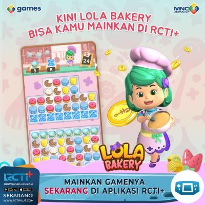 Lola Bakery Game terbaik, Bisa Dimainkan di RCTI+!