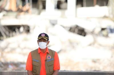 Pascagempa Sulbar M6,2, Doni Monardo Minta Pendataan Kerusakan Rumah Segera Diselesaikan