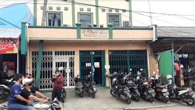Terekam CCTV, Klinik Dokter Timnas Garuda Dibobol Orang